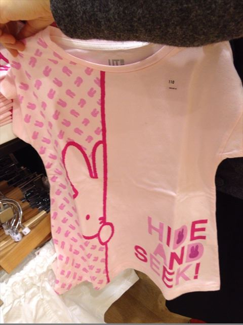 「ユニクロ×ミッフィー」コラボ、子供Tシャツ