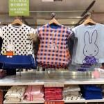 「ユニクロ×ミッフィー」コラボ、子供Tシャツ、店頭の様子