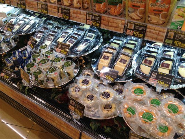 「セントラルスクエア・ライフ」森ノ宮店の様子(食料品売り場)・チーズ