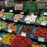 「セントラルスクエア・ライフ」森ノ宮店の様子(食料品売り場)・野菜