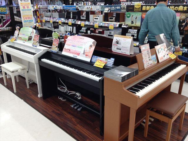エディオン森ノ宮店・電子ピアノ