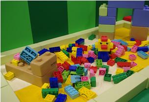 ビックブロック・キッズビーの室内遊具