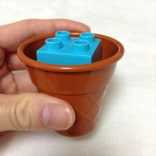 レゴ・デュプロ「アイスクリーム遊びセット」の遊び方一例