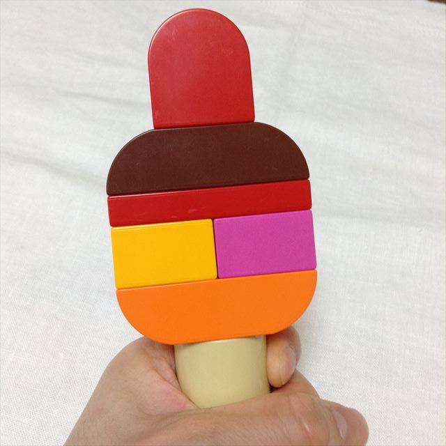 レゴ・デュプロ「アイスクリーム遊びセット」の遊び方一例・アイスキャンディ編