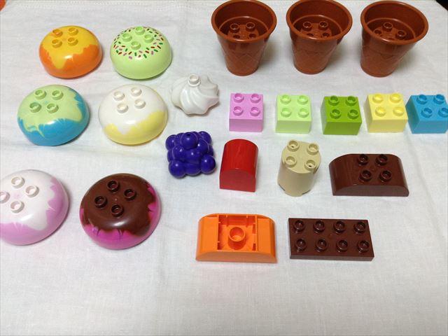 レゴ・デュプロの「アイスクリーム遊びセット」を開封