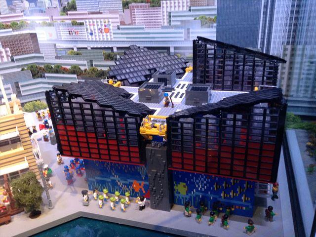 「レゴランドディスカバリーセンター大阪」のアトラクション・ミニランド