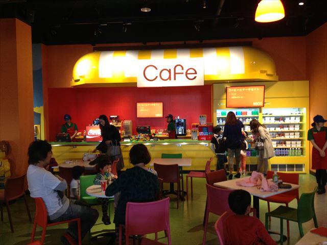 レゴランドディスカバリーセンター大阪のカフェ