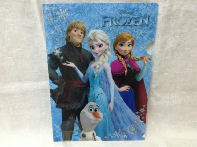 「アナと雪の女王」クリアファイル
