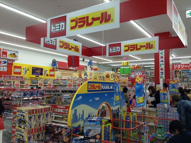 エディオン森ノ宮店・プラレール