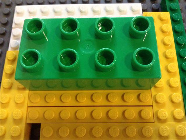幼児向け「レゴ・デュプロ」と普通サイズの「レゴブロック」との兌換性について