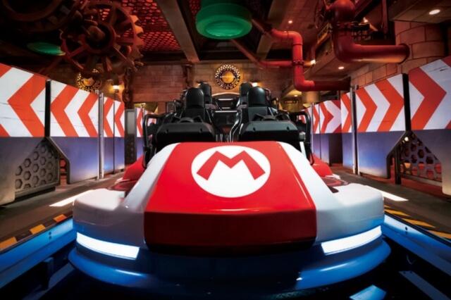 USJ「スーパーニンテンドーワールド」マリオカート体験