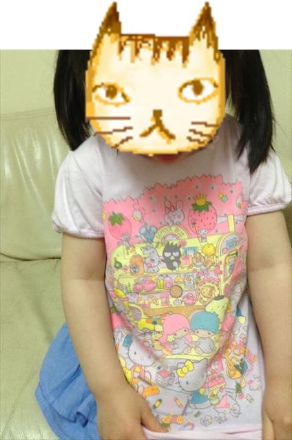 ユニクロ「サンリオ」子供Tシャツ