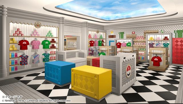 USJ「スーパー任天堂ワールド」マリオグッズ売り場