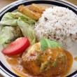とろ~りチーズの彩り野菜ハンバーグ(1,110円)・ハンズカフェ