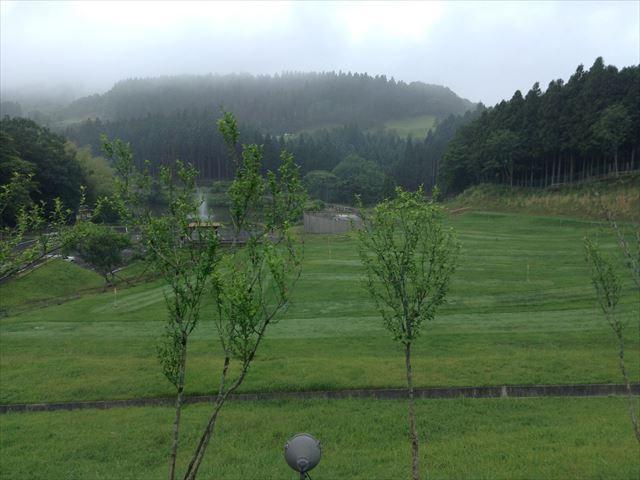 ホテルシャンベール(メナード青山リゾート)窓からの眺め