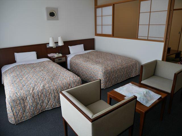 ホテルシャンベール部屋の内装・洋室