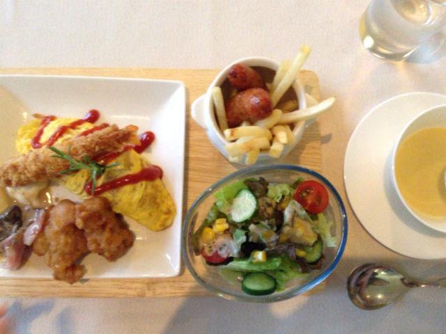 ホテルシャンベール(メナード青山リゾート)・フランス料理のお子様ランチ