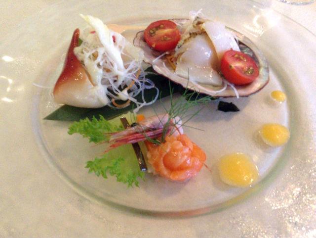ホテルシャンベール(メナード青山リゾート)のフランス料理メニュー