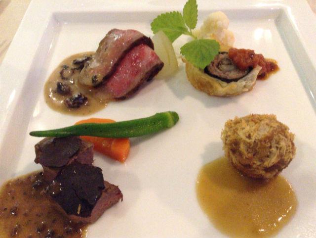 ホテルシャンペール(メナード青山リゾート)・フランス料理