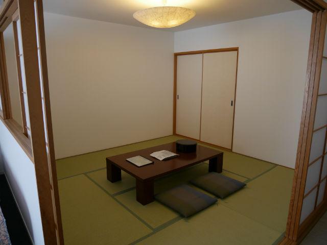 ホテルシャンベール部屋の内装・和室