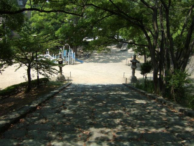 岡公園。和歌山城前