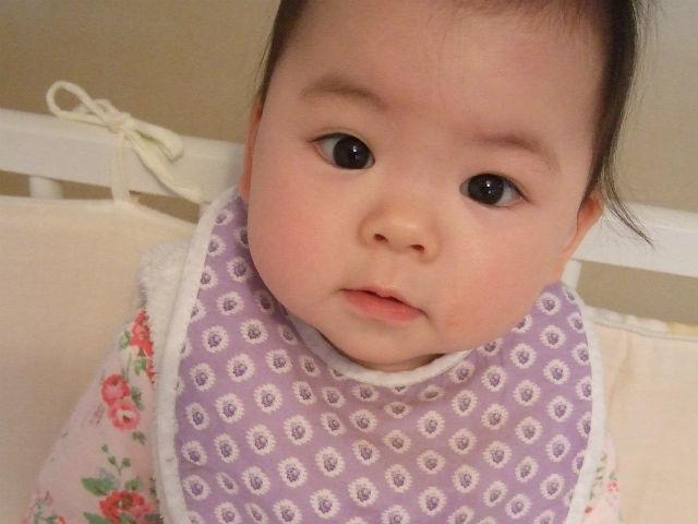 娘の赤ちゃん時代の写真
