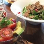 ケロッグシリアルカフェプロジェクト「ラテラス」水切りヨーグルトとブランフレークのフルーツサラダ