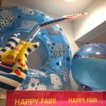 3COINSの夏関連グッズ・浮き輪・ビーチボール