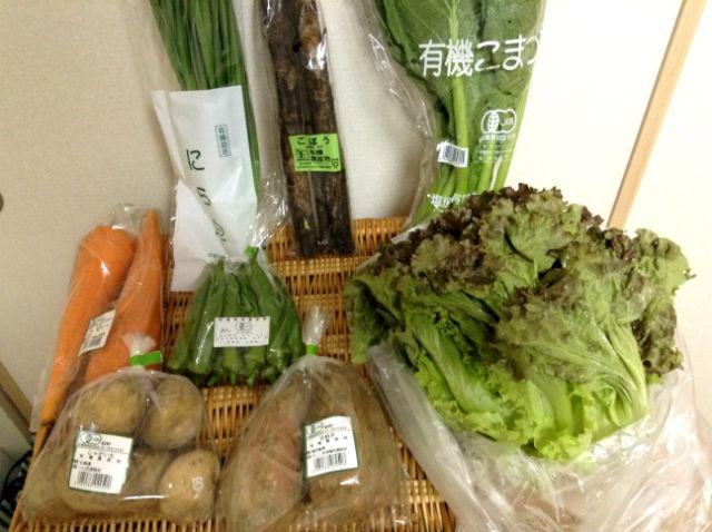 有機野菜宅配「ビオマルシェ」の野菜