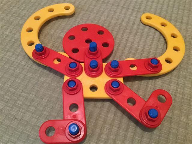 ボーネルンド・テクニコ「スターターボックス」で子供が作った作品