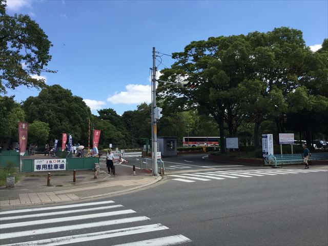大仙公園仁徳御陵駐車場