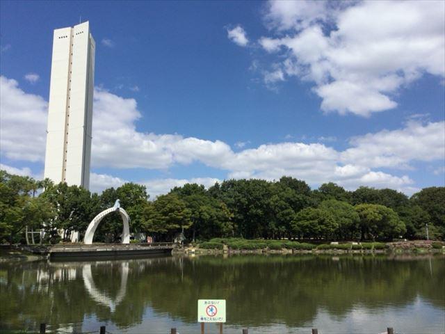 平和塔・どら池