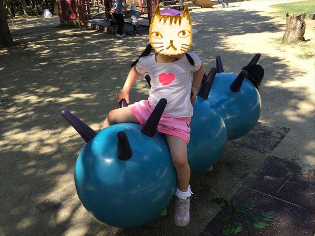 「児童の森」大仙緑地公園の遊具・幼児向け乗り物