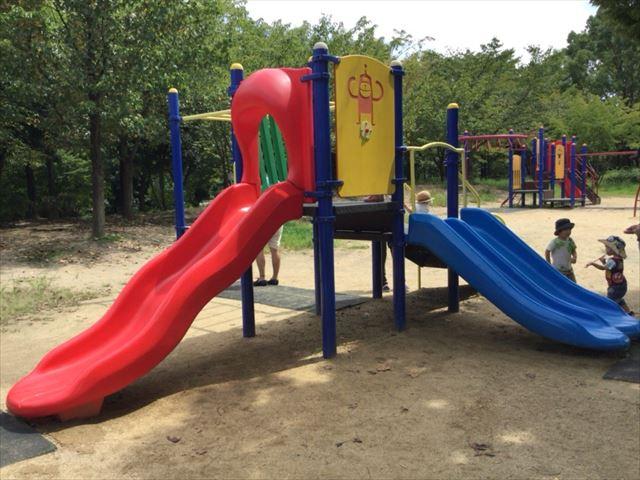 鶴見緑地公園の遊具③