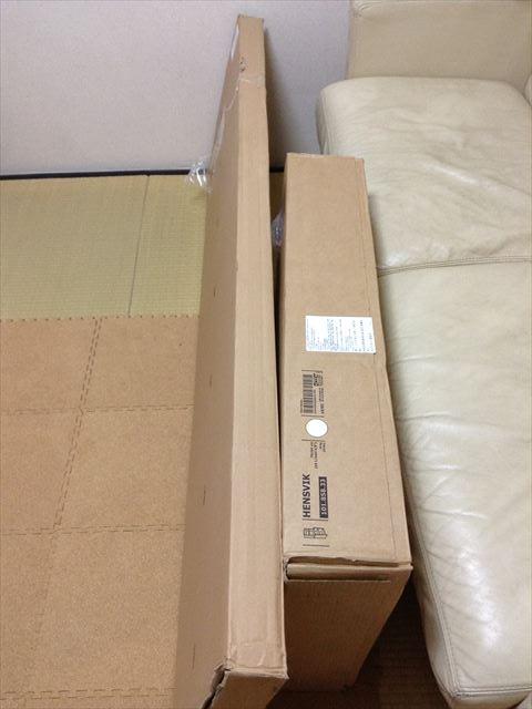 IKEAの子供用家具(段ボール)