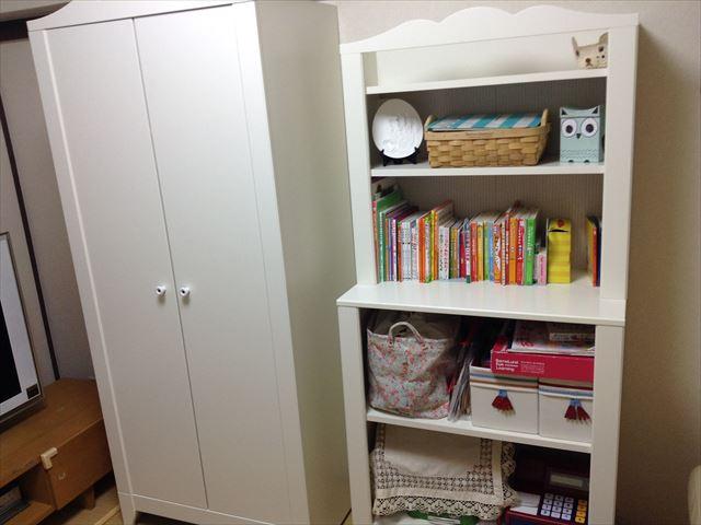 IKEAの子供用家具2つ