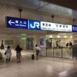 JR東西線・北新地駅の案内版
