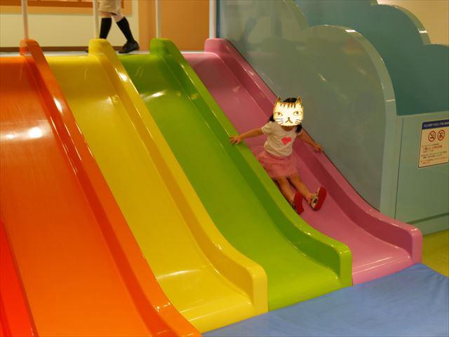 「神戸アンパンマンミュージアム」滑り台
