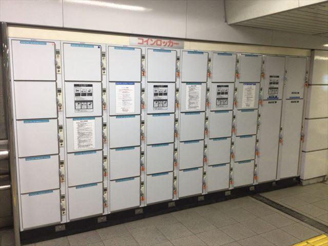 大阪市営地下鉄・森ノ宮駅のコインロッカー