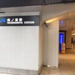 JR森ノ宮駅の入口