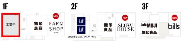玉川髙島屋SCマロニエコート・フロアーマップ