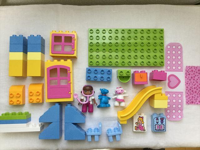 """レゴ・デュプロ「ドックはおもちゃドクター""""うらにわのびょういん""""(10606)」全パーツ"""