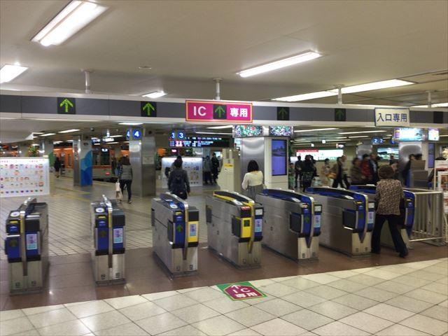 阪神電車乗り場(東口)