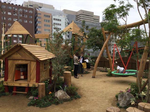 天王寺公園「てんしば」ボーネルンド・プライヴィル屋外遊び場