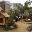 「ボーネルンド・プレイヴィル」の遊具・屋外遊具