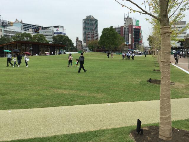 天王寺公園「てんしば」芝生公園