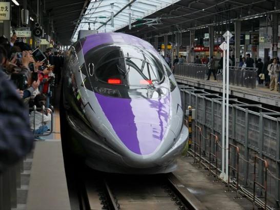 エヴァンゲリオン新幹線500系「こだま」時刻表や停車駅、目撃情報等