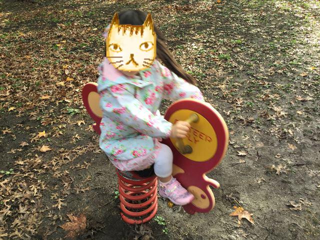 万博記念公園、子供の遊具公園「やったねの木」幼児遊具