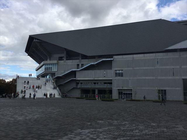 ガンバ大阪新スタジアム(市立吹田スタジアム)外観