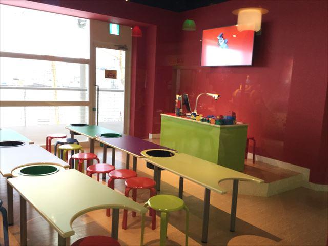 レゴランドディスカバリーセンター大阪・マスタービルダーアカデミーの教室